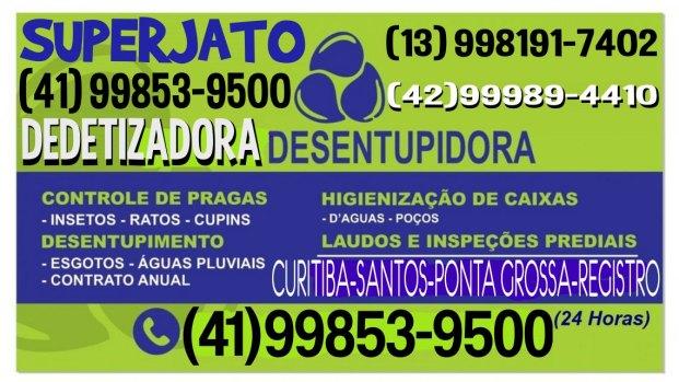 DESENTUPIDORA SUPERJATO 13 98191-7402